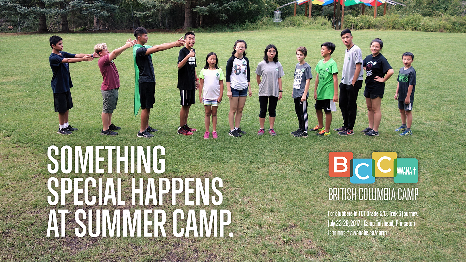 Awana BC Camp. Click here to learn more!