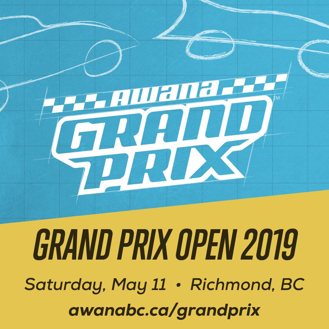 Awana Grand Prix Open Shareable Image