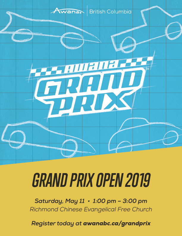 Awana Grand Prix Open Poster