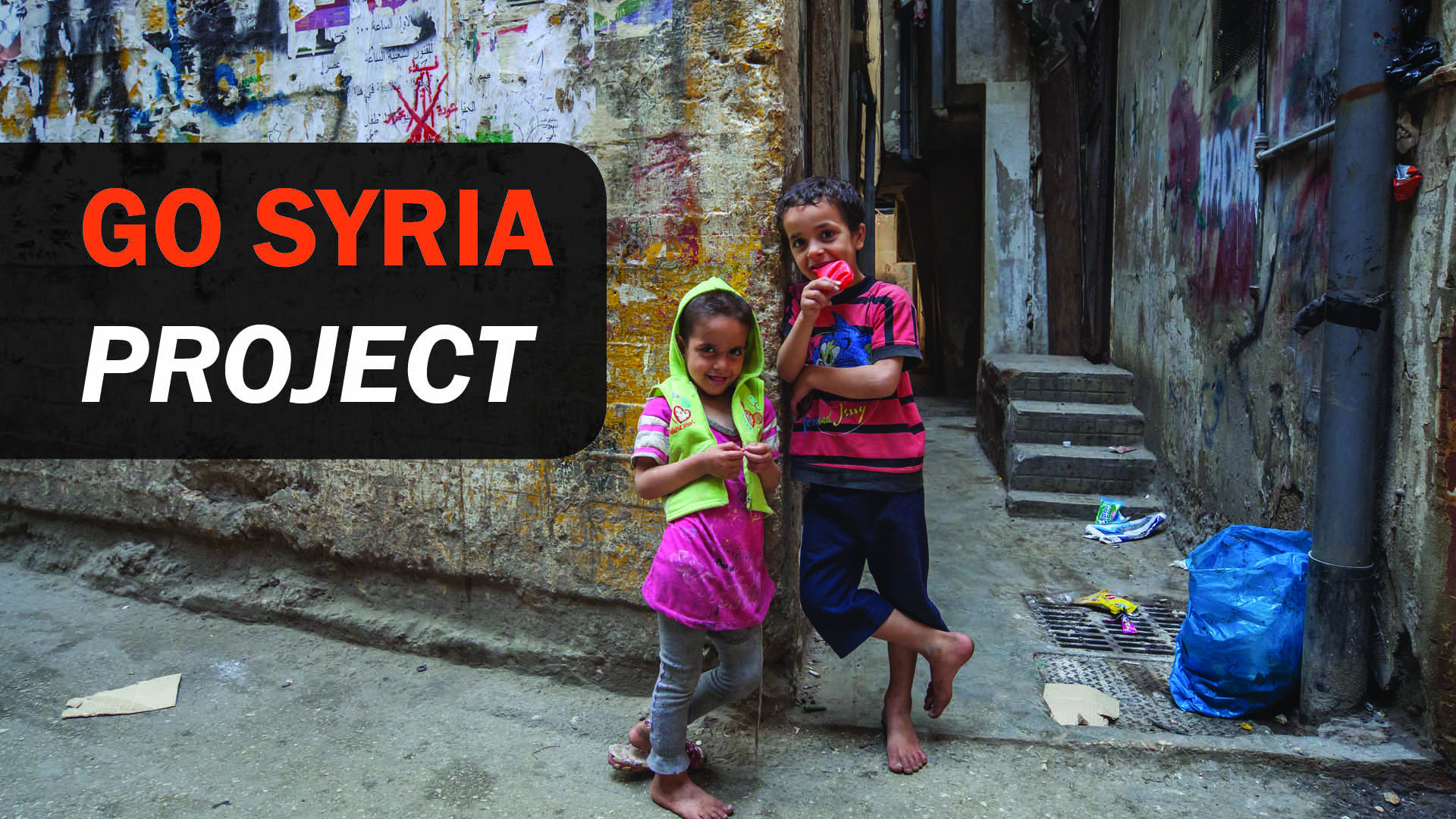 Banner for Go Syria Project