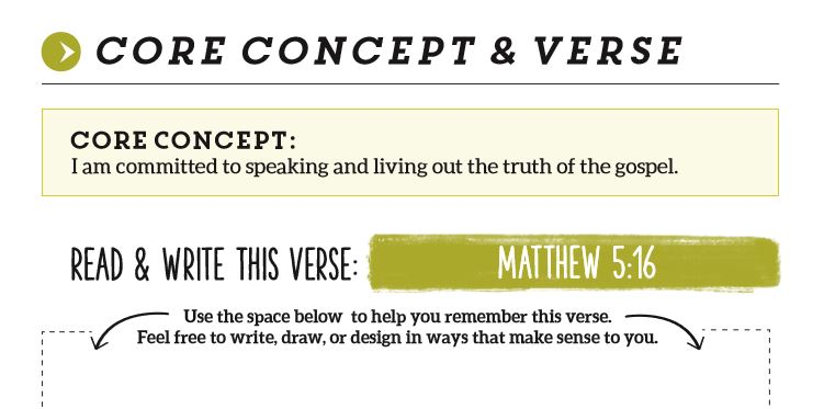 Core Concept and Verse